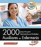 2000 preguntas para Técnicos/as en Cuidados Auxiliares de Enfermería