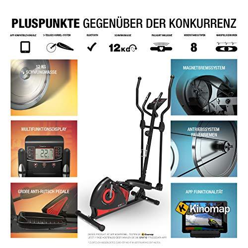 Sportstech CX610 Crosstrainer mit Smartphone App Steuerung - 6