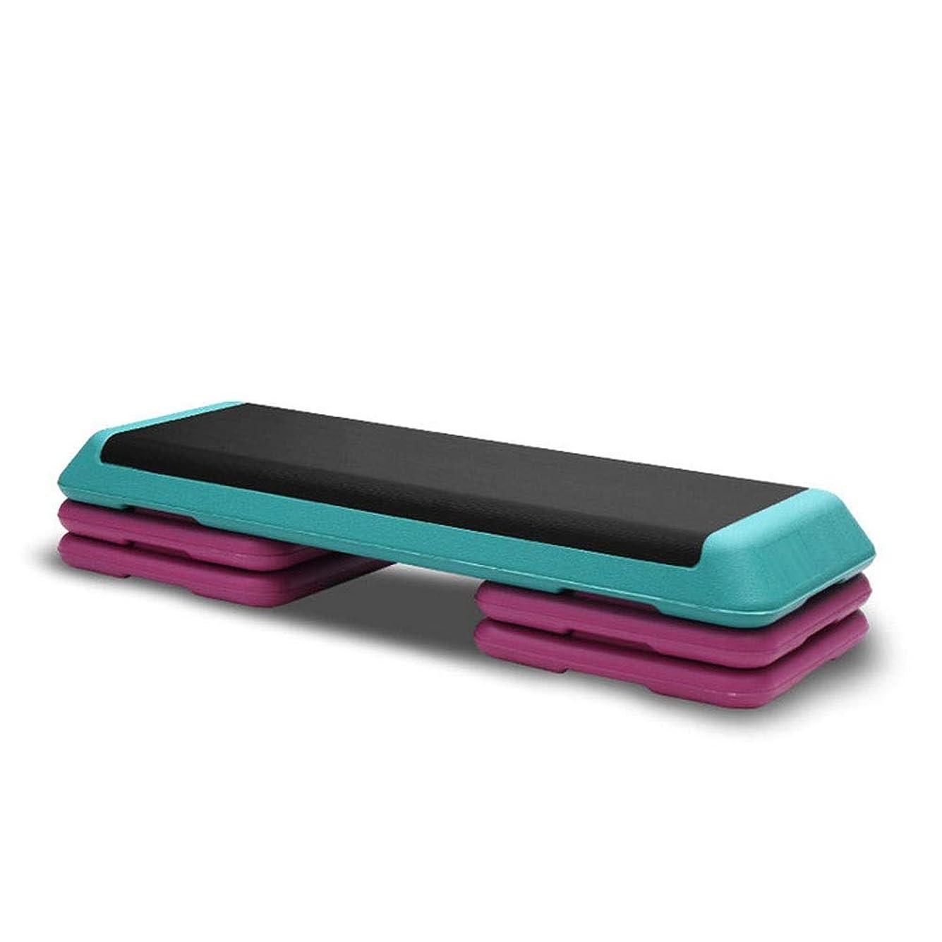固有のノートオールスポーツやジムのためのライザー付き調整可能な運動有酸素ステッパーCadio Fitness Step Platform (Color : Blue-03)