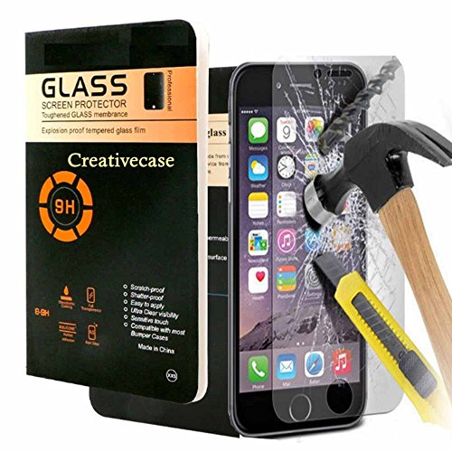 iPhone 7 Plus Tempered Glass,iPhone 7 Plus Screen Protector,Creativecase 1-Pack Claer Tempered Glass - http://coolthings.us