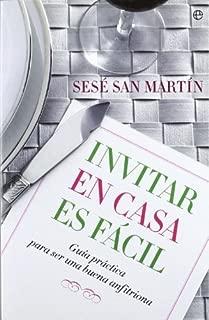 Invitar en casa es facil (Spanish Edition)