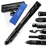 Gifts for Men Dad,Tactical Pen (8-in-1),Cool & Unique Christmas Anniversary Birthday Gifts for Boyfriend Him Husband Dad,Fun Gadget Mens Gifts Ideas,Emergency Tool Survival Gear Kit,Gift Box