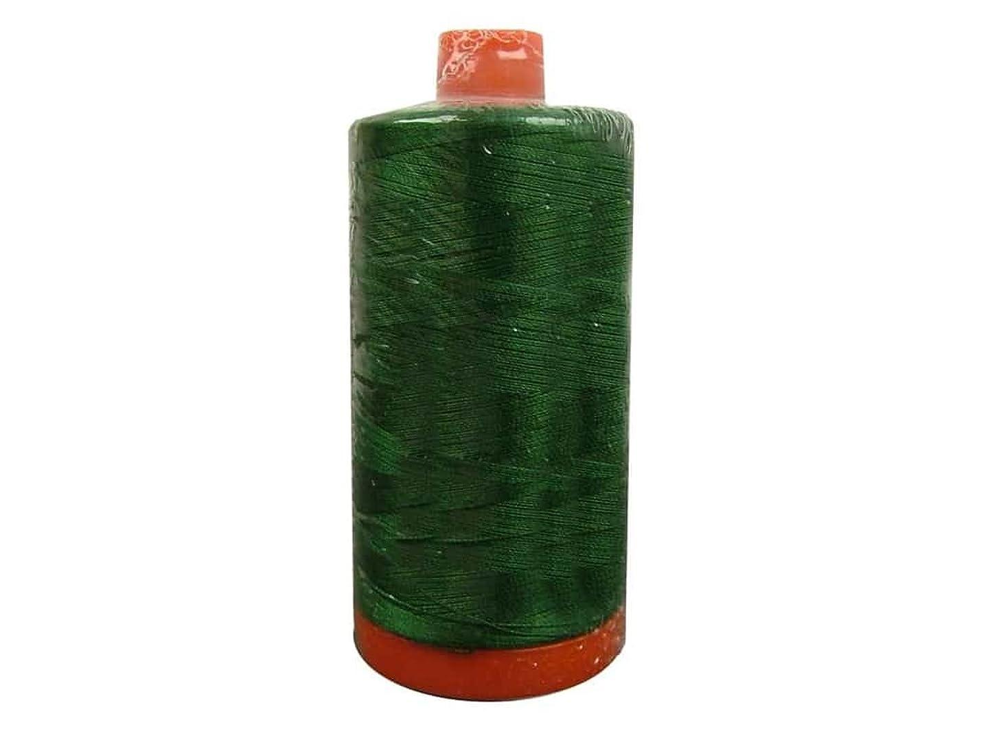 Aurifil Mako Cotton Quilting Thread 50 wt. Dark Green 1420 yd.