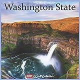 Washington State 2021 Wall Calendar: Official Washington Wild State Calendar 2021, 18 Months