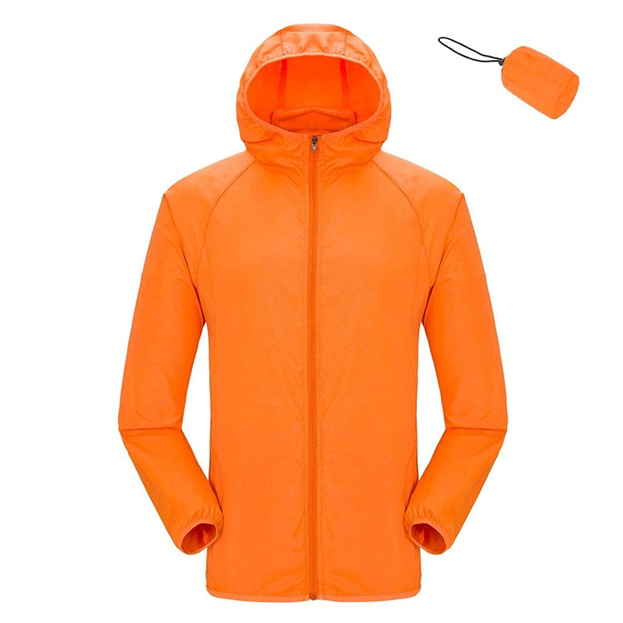 Unisex Lightweight Jacket UV Protect+Quick Dry Windproof Skin Coat for Women and Men ooz736492652935