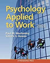 psychology applied to work 12th edition