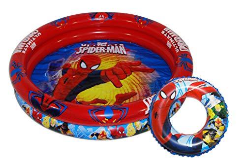 Saica - Set de Piscina y Flotador Hinchables para Niños y N