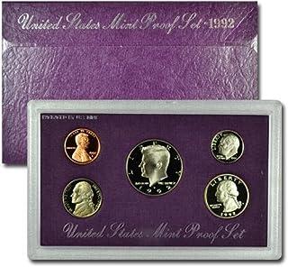 1992 S US 5 Piece set Proof Varies US Mint Proof