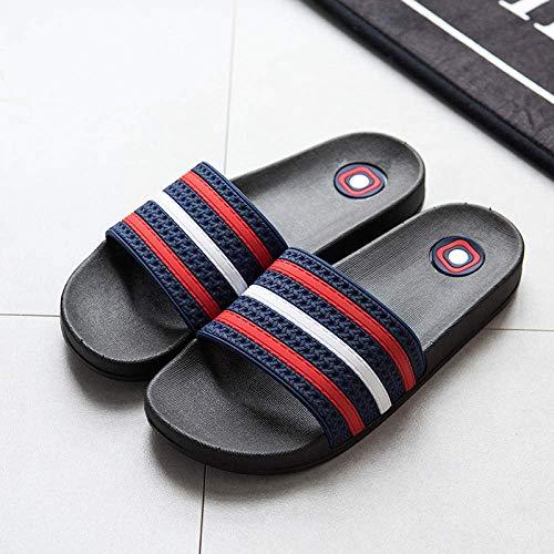 Cxcdxd Sandalias de Ducha Antideslizantes, Zapatillas de baño para Hombres y Mujeres, Sandalias de Playa de Fondo Suave Antideslizantes para Exteriores, Zapatos de Ducha para Nadar