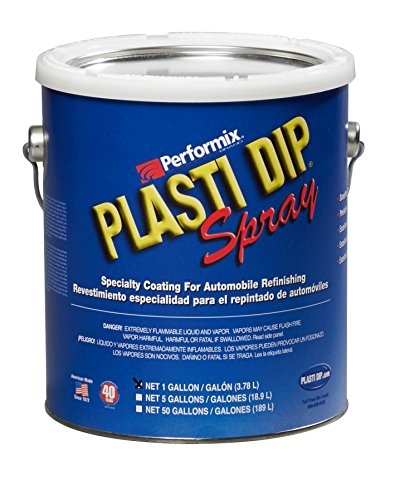 Plasti Dip Performix 10103S-4PK Black Spray - 1 Gallon, (Pack of 4)