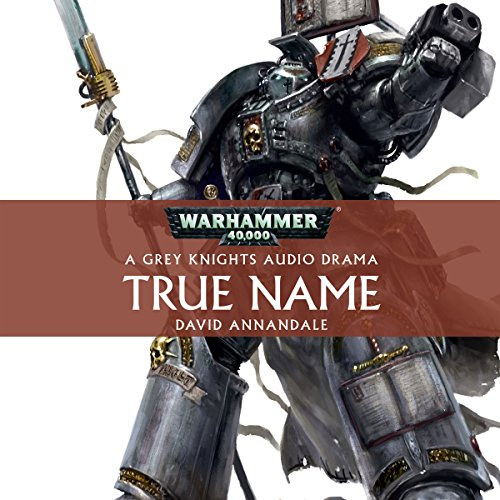 True Name audiobook cover art