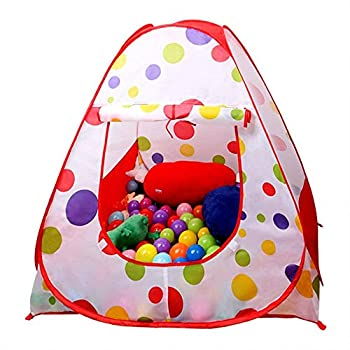 EocuSun Ball Pit Play Tent,Kids Tents/Pop Up Play Tent Play Tents House Indoor and Outdoor Children Kid Tent Beach Tent Playhouse Zipper Storage Case for Boys Girls Toddler