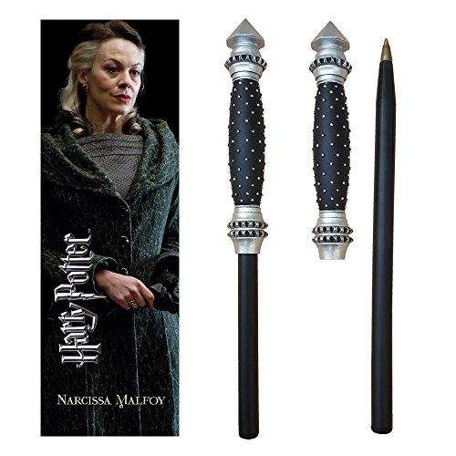 The Noble Collection Harry Potter Wand Pen y Marcador de Narcissa Malfoy