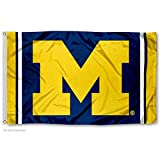 College Flags & Banners Co. Michigan Wolverines Field Stripes Flag