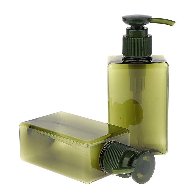 許される傾いたその間Sharplace 空ボトル ローションポンプボトル 詰め替え シャンプー用容器 150ml 漏れ防止 4色 - 緑