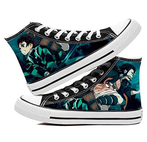 XYUANG Demon Slayer: Kimetsu no Yaiba Kamado Nezuko/Kamado Tanjirou Anime Zapatos Cosplay...