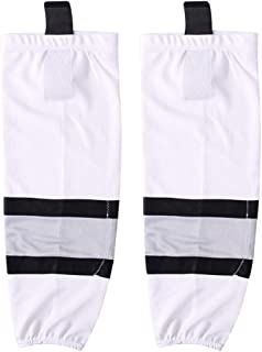 COLDINDOOR Adult Youth Dry Fit Ice Hockey Socks Junior to Senior