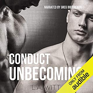 Conduct Unbecoming audiobook cover art