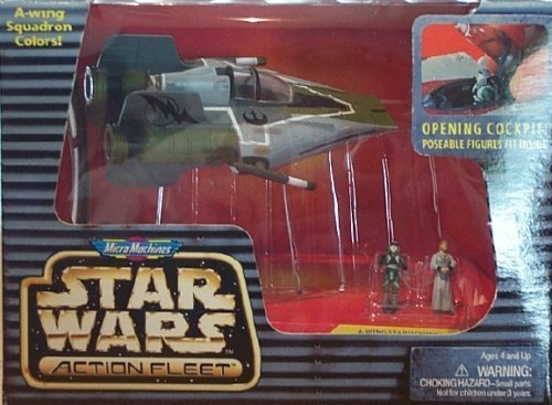Star Wars A-Wing Starfighter Action Fleet Set by Barbie