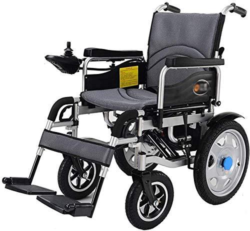 QZDDLY 2020 New Elektro-Rollstuhl, Rollstühle for Erwachsene kompakteste Power Rollstuhl in der Welt - Ultra-tragbare...