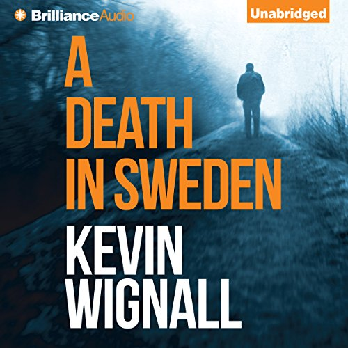 A Death in Sweden audiobook cover art