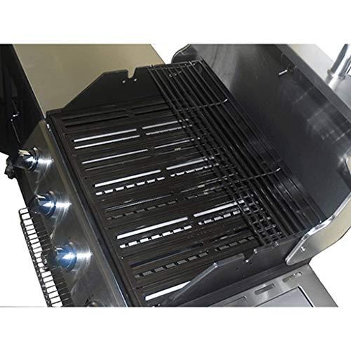 vidaXL Outdoor Kitchen Barbecue Montana 4 Burners