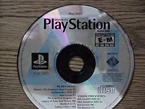 Playstation, Magazine Demo Disc, May 2001