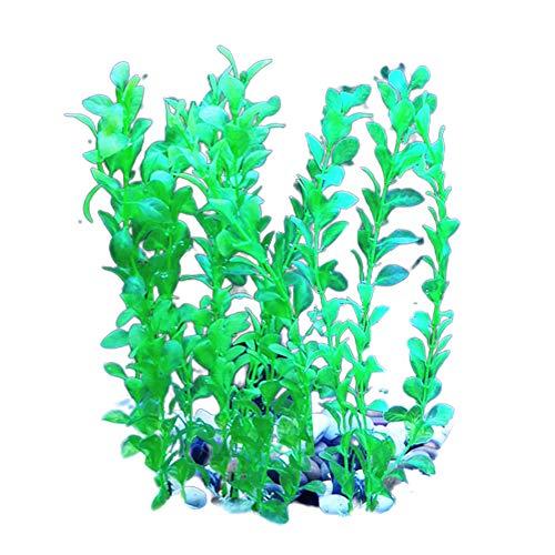 GRASARY Acuario artificial con hierba de agua, plantas para acuario, proporciona decoraciones de paisaje, haz tu vida llena de vitalidad, buenos recuerdos verdes 3