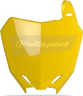 Polisport 08-17 Suzuki RMZ450 Number Plate (Yellow)