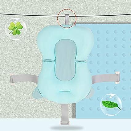 Mcottage Portatile Baby Shower Aria Cuscino Letto Neonato Bagno Nuoto Imbottitura Anti-Scivolo Vasca da Bagno Galleggiante Stuoia Verde