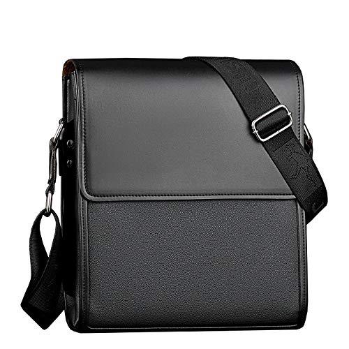 Aktentasche - Umhängetasche, Herrentasche, Umhängetasche, klein schwarz 23 * 7 * 25cm
