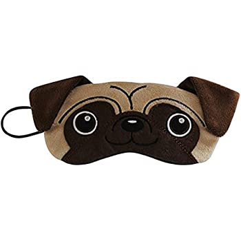 Pug Dog Plush Comfortable Sleep Eye Mask