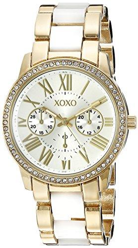 XOXO XO5875 Reloj analógico de Cuarzo de Dos Tonos para Mujer