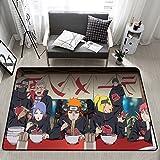 Dibujos Animados Anime Naruto Shippuden Alfombras De Impresión 3D para Sala De Estar Dormitorio Alfombra De Área Grande Juego para Niños Alfombra para Niños 200X300Cm