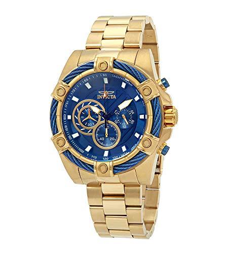 Invicta Bolt Chronograph Blue Dial Mens Watch 25516