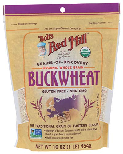 Organic Gluten Free Buckwheat Groats, 16 Ounce (Pack of 1)