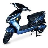 Patinete eléctrico Thor I E-Roller 45 kmh I con 2800 W I Patinete eléctrico con permiso de circulación I Patinete eléctrico con alcance de 65 – 75 km, azul y negro