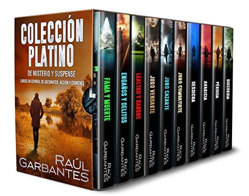 Colección platino de misterio y suspense de Raúl Garbantes
