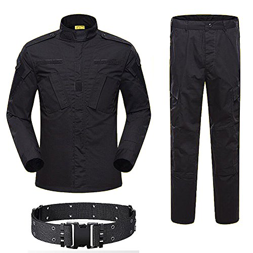 H World Shopping Men Tactical BDU Combat Uniform Jacket Shirt