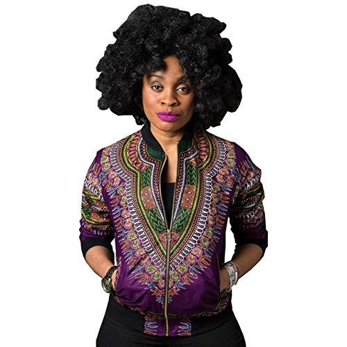 NCKLY Jacke mit Damenprint Bomberjacke Frauen Herbst Outwear Print Jacken Weiblich Casual Basic Jacken Mäntel Für Frauen