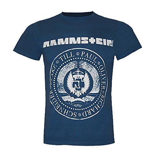 Rammstein T-Shirt EST. 1994' - Navy (M)