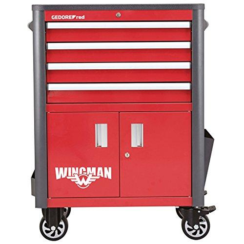 GEDORE red Werkstattwagen WINGMAN mit 4 Schubladen
