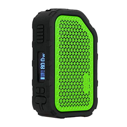 Wismec Active Box Mod 80 W / 2100 mAh, Riccardo e-Zigarette - Bluetooth Akkuträger, grün