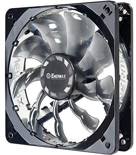 Enermax UCTB12 - Ventilador para Caja de Ordenador (1.8 W, 900 RPM, diámetro del Ventilador: 120 mm), Negro