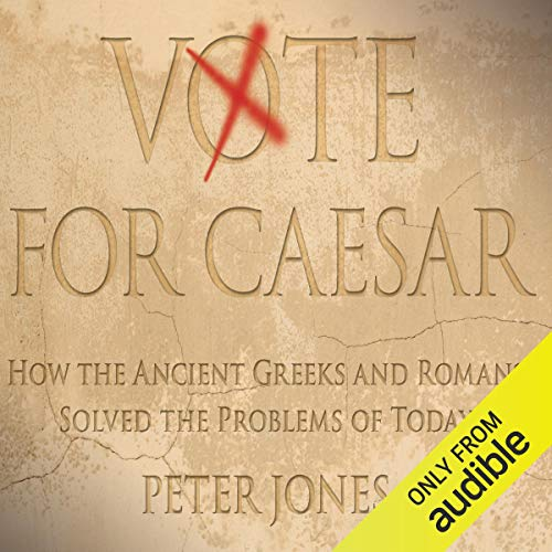 Vote for Caesar audiobook cover art