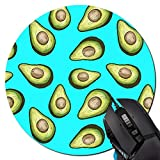 Fresh Tropical Fruit Avocado Mouse Pad Non-Skid Natural Rubber Rectangle Mouse Pads Home Office Computer Gaming Mousepad Mat