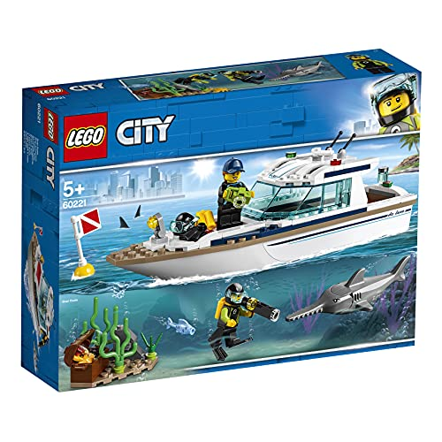 OfferteWeb.click 4D-lego-city-great-vehicles-yacht-per-immersioni-subacquee-con