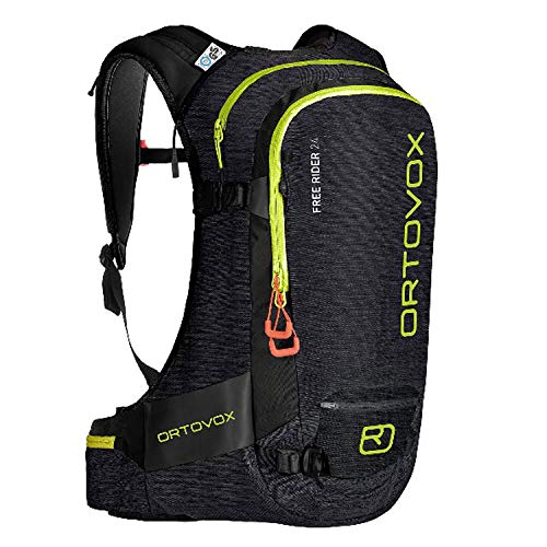 ORTOVOX Free Rider 24 Backpack, Black Raven Blend, 56 cm