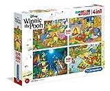Clementoni Pooh & Friends 20 2 Puzzles 60 Piezas Winnie The Pooh, Multicolor (07618.5)