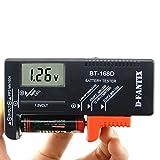D-FantiX Digital Battery Tester Battery Checker for AA AAA C D 9V 1.5V